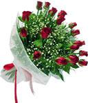 Ulus Ankara hediye sevgilime hediye çiçek  11 adet kirmizi gül buketi sade ve hos sevenler