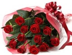 Ulus Ankara İnternetten çiçek siparişi  10 adet kipkirmizi güllerden buket tanzimi