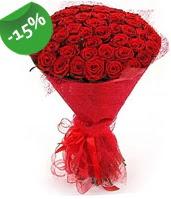 51 adet kırmızı gül buketi özel hissedenlere  Ulus Ankara anneler günü çiçek yolla
