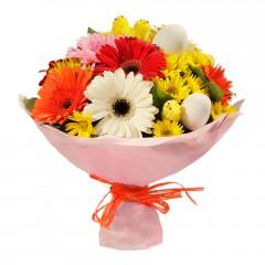 Karışık mevsim buketi Mevsimsel çiçek  Ulus Ankara çiçek servisi , çiçekçi adresleri