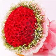 101 adet kırmızı gülden buket  Ulus Ankara güvenli kaliteli hızlı çiçek