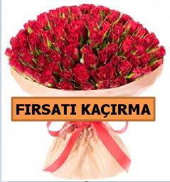 SON 1 GÜN İTHAL BÜYÜKBAŞ GÜL 101 ADET  Ulus Ankara hediye sevgilime hediye çiçek