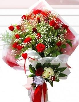 Kız isteme buketi çiçeği 41 güllü