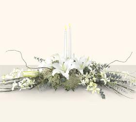 Ulus Ankara yurtiçi ve yurtdışı çiçek siparişi  kazablanka mum tanzim
