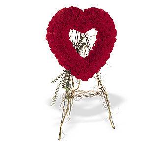 Ulus Ankara hediye sevgilime hediye çiçek  karanfillerden kalp pano