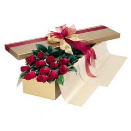 Ulus Ankara yurtiçi ve yurtdışı çiçek siparişi  10 adet kutu özel kutu
