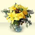 Ulus Ankara çiçek servisi , çiçekçi adresleri  sari güller ve sari lilyum