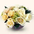 Ulus Ankara çiçek , çiçekçi , çiçekçilik  9 adet sari gül cam yada mika vazo da