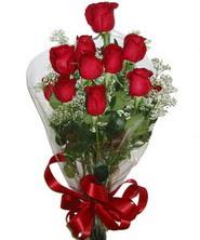 9 adet kaliteli kirmizi gül   Ulus Ankara hediye çiçek yolla