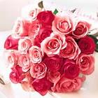 11 adet renkli gül buketi   Ulus Ankara çiçek gönderme