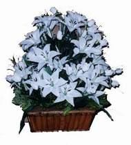 yapay karisik çiçek sepeti   Ulus Ankara kaliteli taze ve ucuz çiçekler