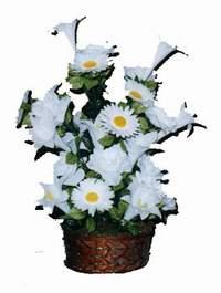 yapay karisik çiçek sepeti  Ulus Ankara çiçek mağazası , çiçekçi adresleri