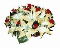 yapay karisik çiçek sepeti   Ulus Ankara çiçek servisi , çiçekçi adresleri