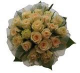 12 adet sari güllerden buket   Ulus Ankara online çiçekçi , çiçek siparişi