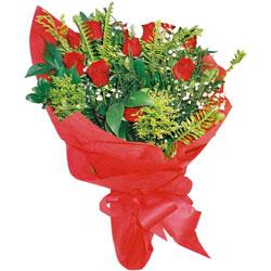 11 adet gül buketi sade ve görsel  Ulus Ankara yurtiçi ve yurtdışı çiçek siparişi