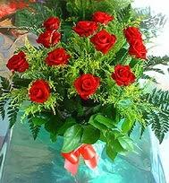 12 adet gül buketi  Ulus Ankara İnternetten çiçek siparişi