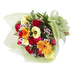 karisik mevsim buketi   Ulus Ankara hediye çiçek yolla