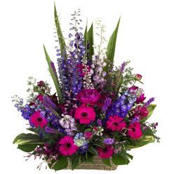 karisik mevsim çiçeklerinden sepet tanzimi   Ulus Ankara çiçek yolla , çiçek gönder , çiçekçi