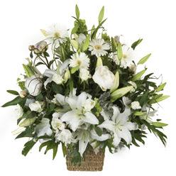 sepet içerisinde karisik mevsim çiçekleri  Ulus Ankara çiçek mağazası , çiçekçi adresleri
