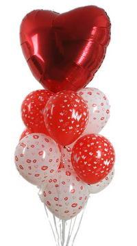 Sevdiklerinize 17 adet uçan balon demeti yollayin.   Ulus Ankara anneler günü çiçek yolla