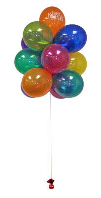 Sevdiklerinize 17 adet uçan balon demeti yollayin.