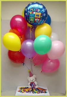 Ulus Ankara 14 şubat sevgililer günü çiçek  Sevdiklerinize 17 adet uçan balon demeti yollayin.