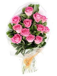 Ulus Ankara ucuz çiçek gönder  12 li pembe gül buketi.
