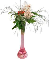 Ulus Ankara çiçek satışı  Filayagi cam vazo içerisinde orkide ve güllerle ha