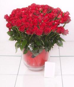 Ulus Ankara güvenli kaliteli hızlı çiçek  101 adet kirmizi gül