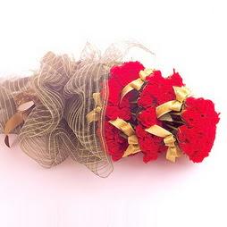 Ulus Ankara güvenli kaliteli hızlı çiçek  41 adet kirmizi gül buketi - essiz buket