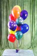 Ulus Ankara güvenli kaliteli hızlı çiçek  19 adet uçan balon demeti balonlar