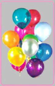 Ulus Ankara kaliteli taze ve ucuz çiçekler  15 adet karisik renkte balonlar uçan balon