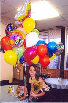 Ulus Ankara hediye sevgilime hediye çiçek  49 adet karisik renkte uçan balonlar buketi