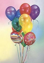 Ulus Ankara çiçek yolla  19 adet karisik renkte uçan balon buketi