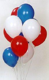 Ulus Ankara çiçek online çiçek siparişi  17 adet renkli karisik uçan balon buketi