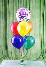 Ulus Ankara çiçekçi mağazası  18 adet renkli uçan balon hediye ürünü balon