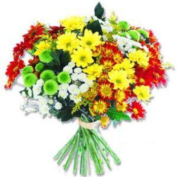 Kir çiçeklerinden buket modeli  Ulus Ankara kaliteli taze ve ucuz çiçekler