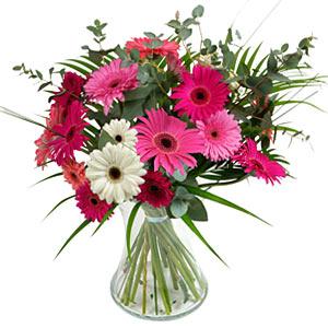 15 adet gerbera ve vazo çiçek tanzimi  Ulus Ankara kaliteli taze ve ucuz çiçekler