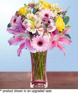 Anneme hediye karisik cam mevsim demeti  Ulus Ankara çiçek servisi , çiçekçi adresleri