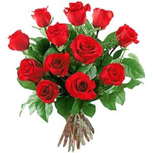 11 adet bakara kirmizi gül buketi  Ulus Ankara çiçek , çiçekçi , çiçekçilik