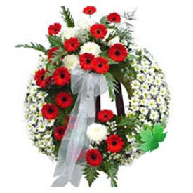 Cenaze çelengi cenaze çiçek modeli  Ulus Ankara online çiçekçi , çiçek siparişi