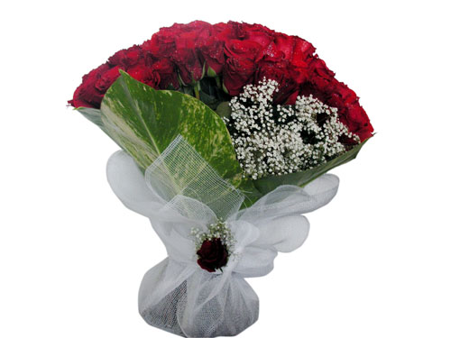 25 adet kirmizi gül görsel çiçek modeli  Ulus Ankara çiçek gönderme