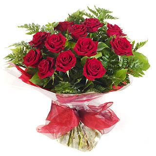 Ucuz Çiçek siparisi 11 kirmizi gül buketi  Ulus Ankara çiçek yolla