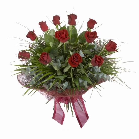 Etkileyici buket 11 adet kirmizi gül buketi  Ulus Ankara hediye sevgilime hediye çiçek