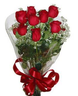 Çiçek sade gül buketi 7 güllü buket  Ulus Ankara kaliteli taze ve ucuz çiçekler