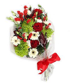 Karisik mevsim buketi çiçek tanzimi  Ulus Ankara çiçek servisi , çiçekçi adresleri