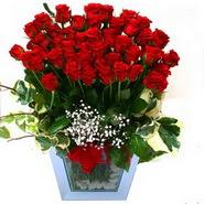 Ulus Ankara çiçek servisi , çiçekçi adresleri   51 adet kirmizi gül aranjmani