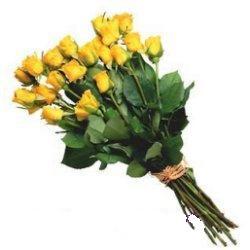 Ulus Ankara çiçek yolla , çiçek gönder , çiçekçi   12 adet sari gül buketi özel