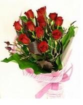 11 adet essiz kalitede kirmizi gül  Ulus Ankara İnternetten çiçek siparişi