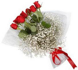 7 adet essiz kalitede kirmizi gül buketi  Ulus Ankara çiçek gönderme sitemiz güvenlidir